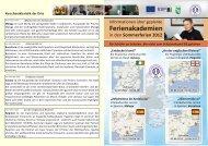 Sommerferien 2012 - Saxony International School