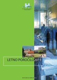"""LETNO POROÃ""""ÂŒILO2011 - SploÃ…Â¡na bolniÃ…Â¡nica Novo mesto"""