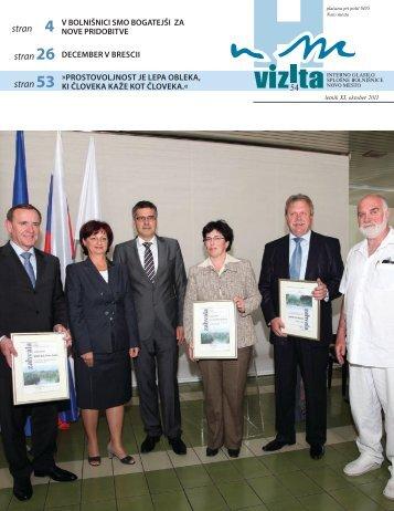 Glasilo Vizita - Ã…Â¡t. 54 - SploÃ…Â¡na bolniÃ…Â¡nica Novo mesto