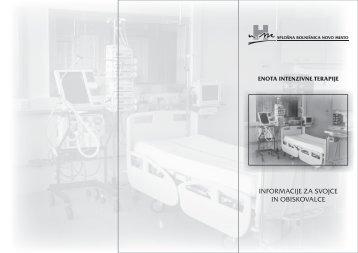 Informacije za bolnike in svojce
