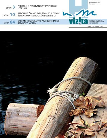 Glasilo Vizita - Ã…Â¡t. 57 - SploÃ…Â¡na bolniÃ…Â¡nica Novo mesto