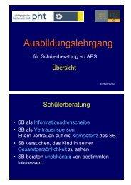 Übersicht - Schulpsychologie Tirol