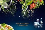Příprava potravin v domácnosti - CacheFly