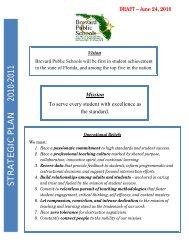 2010-11 Strategic Plan 6-23-10.pdf - Brevard Public Schools