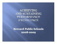 Performance Excellence for Board 1.pdf - Brevard Public Schools