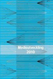 Medieutveckling 2010 - Myndigheten för radio och tv