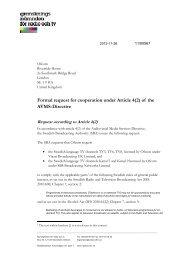 Formal request for cooperation under Article 4(2) - Myndigheten för ...