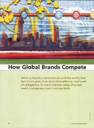 25 how global brands compete - School of Business Administration