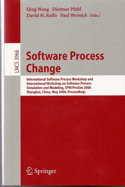 Software Process Change - School of Business Administration ...