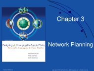Chapter 3: Network Planning