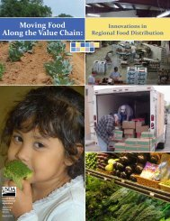 Moving Food Along the Value Chain: - Milwaukee Food Council