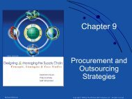 Chapter 9. Procurement and Outsourcing Strategies