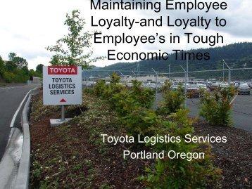 Toyota Corporation - Ron Corbin (.pdf)