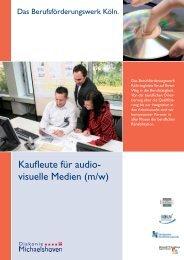 Ausbildung Kaufleute für audiovisuelle Medien - Diakonie ...