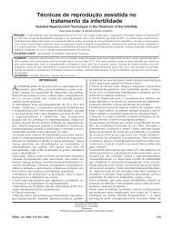 Técnicas de reprodução assistida no tratamento da infertilidade