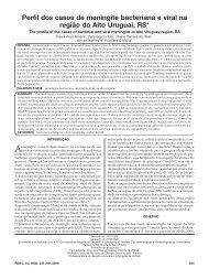 Perfil dos casos de meningite bacteriana e viral na região do Alto ...