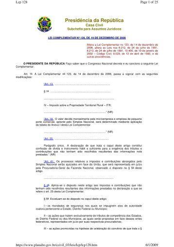 Leia o texto da lei na íntegra em pdf - Sociedade Brasileira de ...