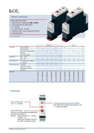 Zeitrelais, elektronisch Einstellungen - SBC-support