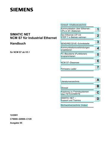 NCM S7 für Industrial Ethernet