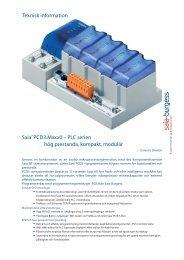 Saia® PCD3.Mxxx0 – PLC serien hög prestanda ... - SBC-support