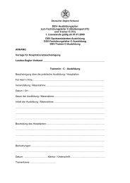 Trainer/in - C - Ausbildung - Deutscher Segler-Verband