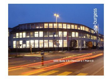DDC Suite 2.0 / PG5 Building Advanced - SBC-support
