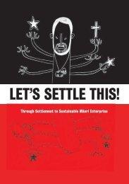 Māori Enterprise Development - Sustainable Business Council