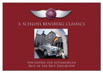 Magazin zu den 3. Schloß Bensberg Classics 2011 - Schloss ...