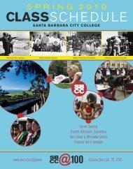 S P R I N G 2 0 1 0 - Santa Barbara City College