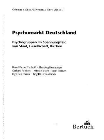 Psychomarkt Deutschland - AGPF