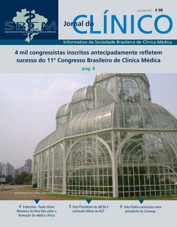 Jornal 96.indd - Sociedade Brasileira de Clínica Médica