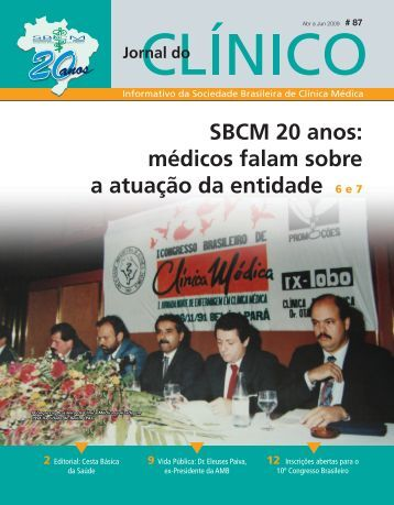 SBCM 20 anos - Sociedade Brasileira de Clínica Médica