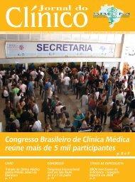 Jornal do - Sociedade Brasileira de Clínica Médica