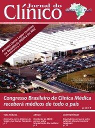 Jornal do Congresso Brasileiro de Clínica Médica receberá médicos ...