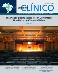 Inscrições abertas para o 11º Congresso Brasileiro de Clínica Médica