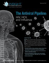 Antiviral Pipeline: HIV, HCV, and Influenza report