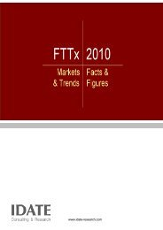 FTTx 2010 - Idate