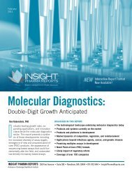 Molecular Diagnostics: - Cambridge Healthtech Institute