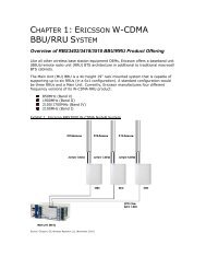 BBU/RRU SYSTEM