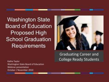 presentation - Washington State Board of Education