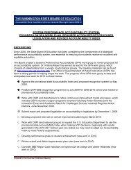 Accountability Framework - Washington State Board of Education
