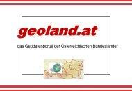 das Geodatenportal der Österreichischen Bundesländer