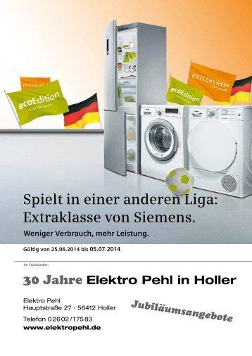 Spielt in einer anderen Liga: Extraklasse von Siemens.