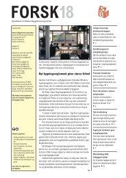 forsk18 - Statens Byggeforskningsinstitut