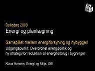 Energi og planlægning