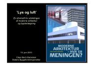 'Lys og luft' - Statens Byggeforskningsinstitut