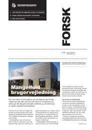 Forsk 30 - Statens Byggeforskningsinstitut
