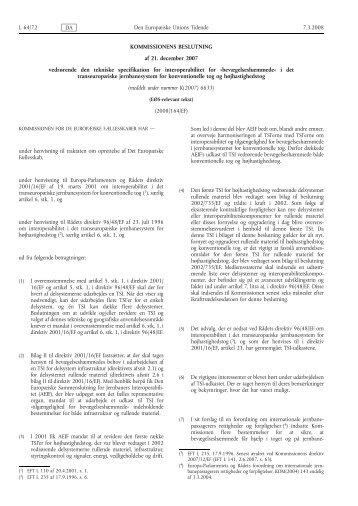 TSI-PRM dokumentet