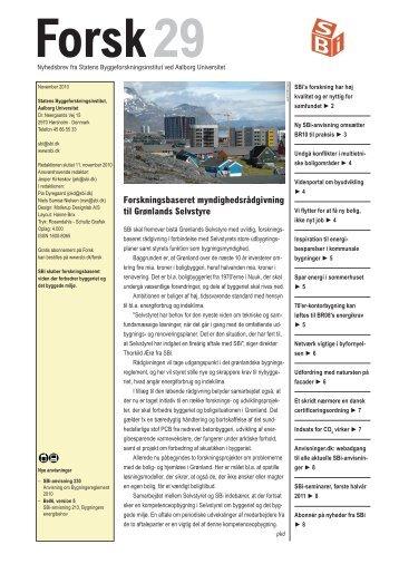Forsk29 - Statens Byggeforskningsinstitut