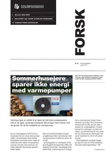 Forsk 31 - Statens Byggeforskningsinstitut